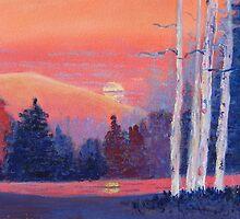 Sunset by Doris Currier