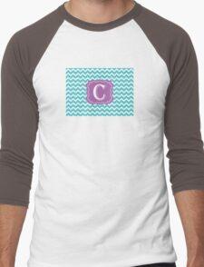 Chevron C Men's Baseball ¾ T-Shirt