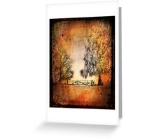Textured Winter Impression Greeting Card
