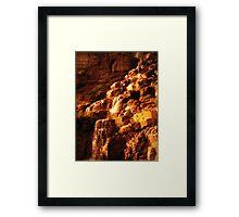 shimmer falls Framed Print