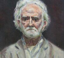 Homeless Man 2 by Doris Currier