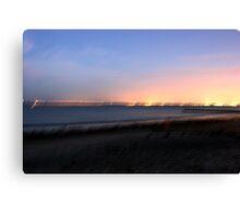 Night on the Beach Canvas Print