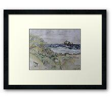Pelican Key Framed Print