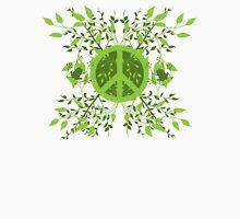 Green Leafy Peace Unisex T-Shirt