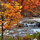 Cataract Falls - Autumn by Jeff VanDyke