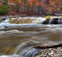 Cataract Falls - Autumn #2 by Jeff VanDyke