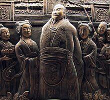 The Emperor & his wives, Yangzhou, China by DaveLambert