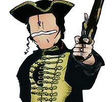 Adam Ant Coloured by mollytherocker