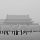 Tiananmen Tower, Tiananmen square, Beijing, China by maddie5