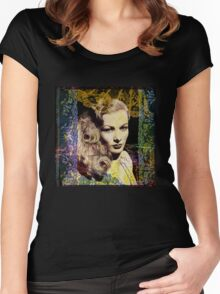 Sophisticated Lady, Glamorous Veronica! Women's Fitted Scoop T-Shirt