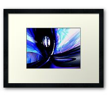 Internal Forces Abstract Framed Print