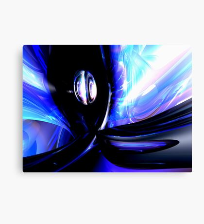Internal Forces Abstract Canvas Print