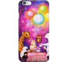 Magical Midnight Tea Party iPhone Case/Skin