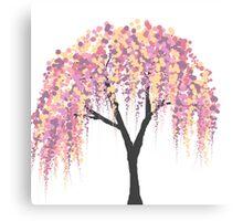 Bubble gum Tree Canvas Print