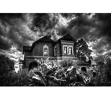 Black and White Vision of the House  Photographic Print