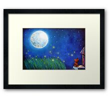 Twinkle Twinkle Little Star Framed Print