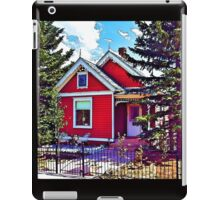Little Red House iPad Case/Skin