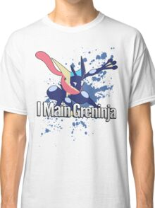 I Main Greninja - Super Smash Bros. Classic T-Shirt