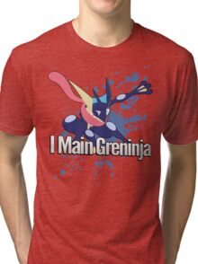 I Main Greninja - Super Smash Bros. Tri-blend T-Shirt
