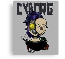 Cyborg Canvas Print
