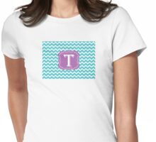 Chevron T Womens Fitted T-Shirt