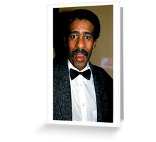 Richard Pryor Greeting Card