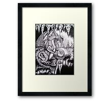 The Soothsayer  Framed Print