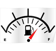 Fuel Gauge Poster