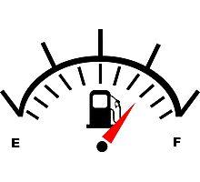Fuel Gauge Photographic Print