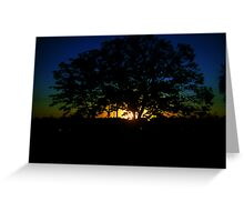 Sun in the Distance Greeting Card