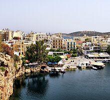 Agios Nikolaos, Crete, Greece by Teresa Zieba