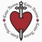 Carpe Noctem Heart & Dagger by Zehda