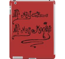 Repeat as needed iPad Case/Skin
