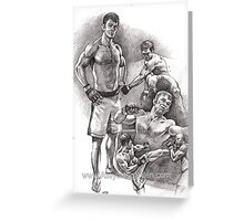 Forrest Griffin Greeting Card