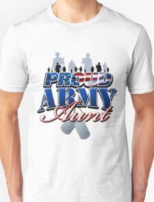 Proud Army Aunt Unisex T-Shirt