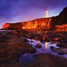 Sunrise on Split Point Lighthouse by Mark Shean