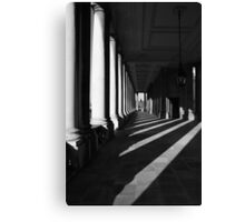 pilar perspective Canvas Print