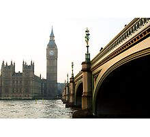 thames time Photographic Print