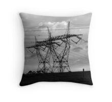 technology Throw Pillow