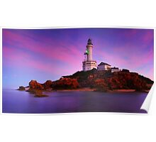Morning Glow Point Lonsdale Ligthouse Poster