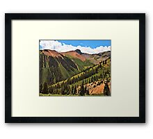 Ophir Pass Framed Print