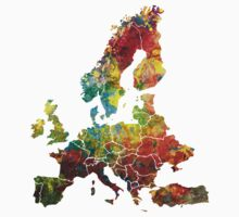 Map of the Europe Kids Clothes