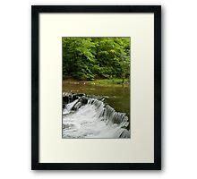 South Chagrin Falls Framed Print
