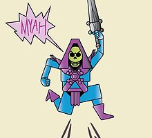 Skeletor Victory Jump by Mike McLeod