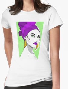 Veritas...  Womens Fitted T-Shirt