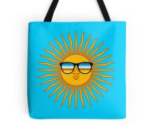 Hipster Sun Tote Bag