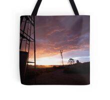 Windmill Sun Set Tote Bag