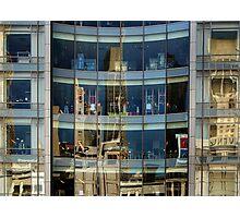 San Francisco Union Square reflection Photographic Print