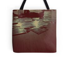 Melodic Blues Tote Bag