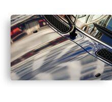 San Francisco automobile reflection Canvas Print